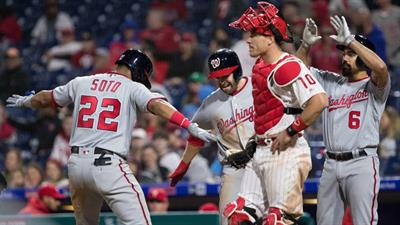 4-Run Lead By Aaron Nola But Things Fall Apart Late - Nationals 10, Phillies 6 (10 Innings)