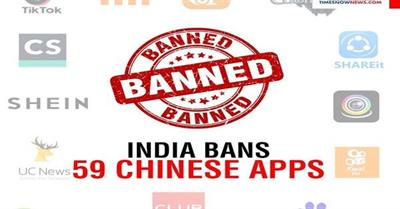Ban On Chinese Apps