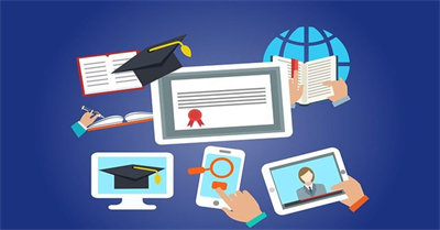 Text books amidst E-learning