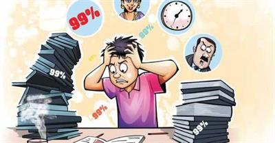 Curbing inputs for exam stress