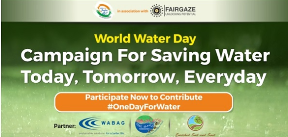 FairGaze & India Is Us Conduct #OneDayForWater Campaign