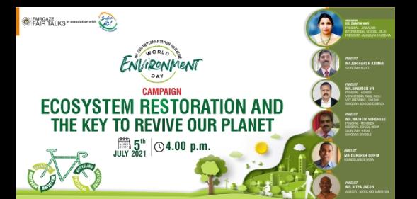 World Environment Day by FairGaze, I2U Engaged 24K+ Students