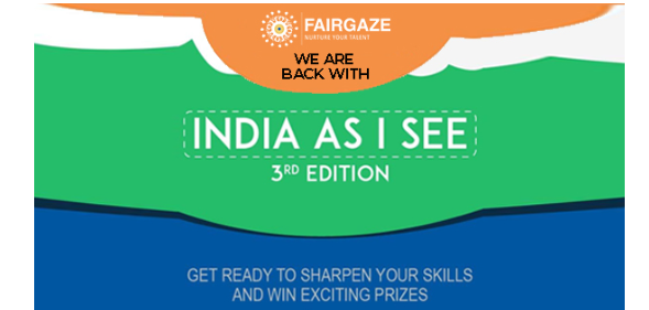 FairGaze Presents India As I See 2020 (Third Edition)