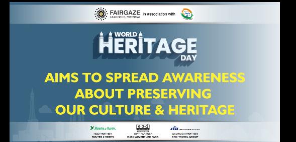 FairGaze & India Is Us Conclude #OneDayForHeritage Campaign