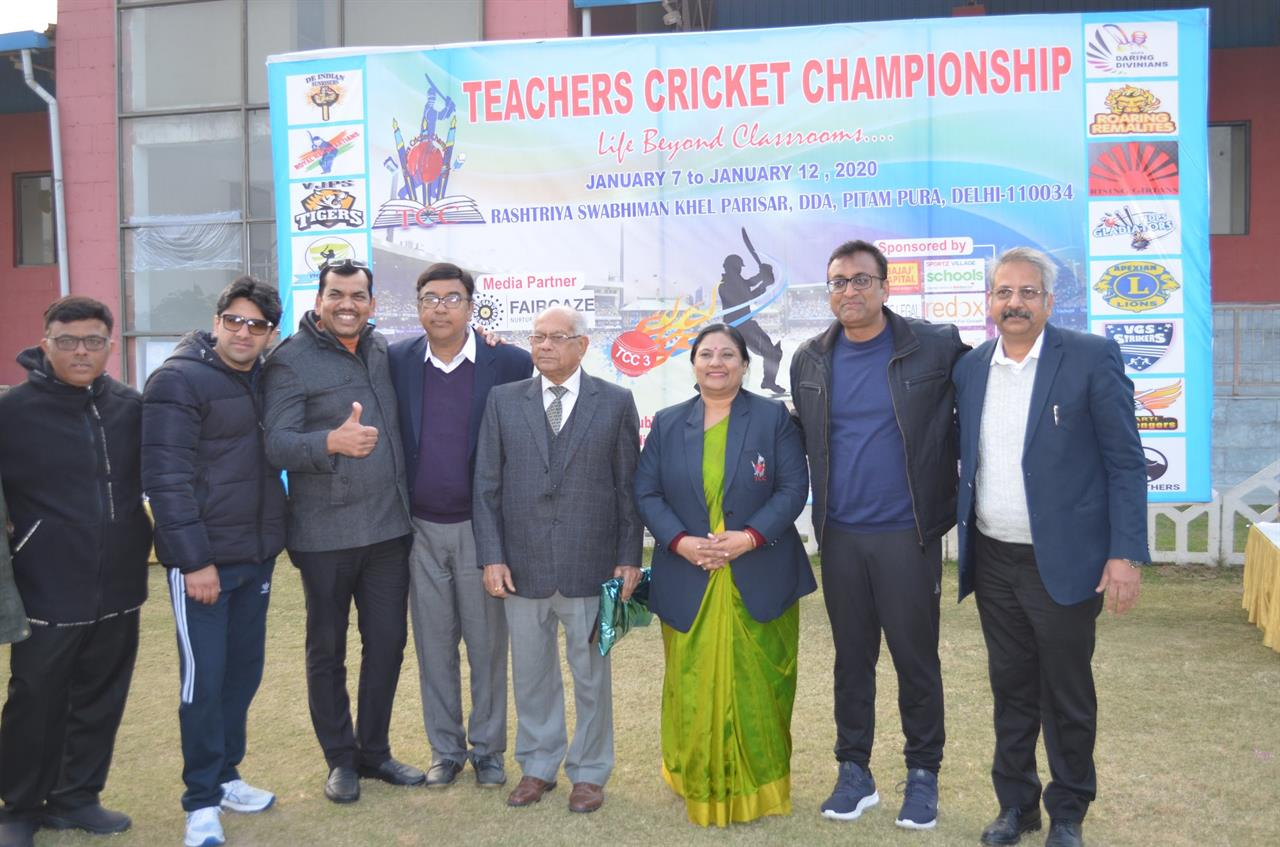 The Comeback of the 3rd Edition of Teachers Cricket Championship