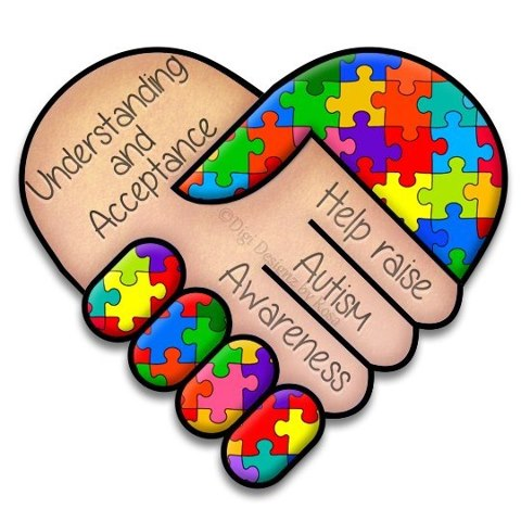 Free download of Autism Puzzle Piece vector graphics and