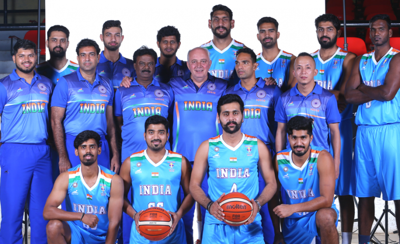 The Indian Mens Basketball Team Ended Their Campaign At The Th Asian Games After Losing To Indonesia By A Score Of   They Played A Very Competitive
